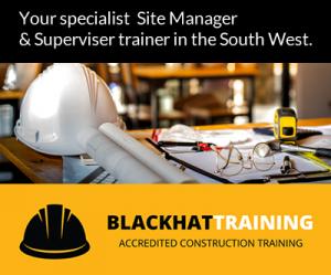 Black Hat Training - specialist site manager superviser training