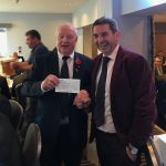 Lighthouse Club £540 donation