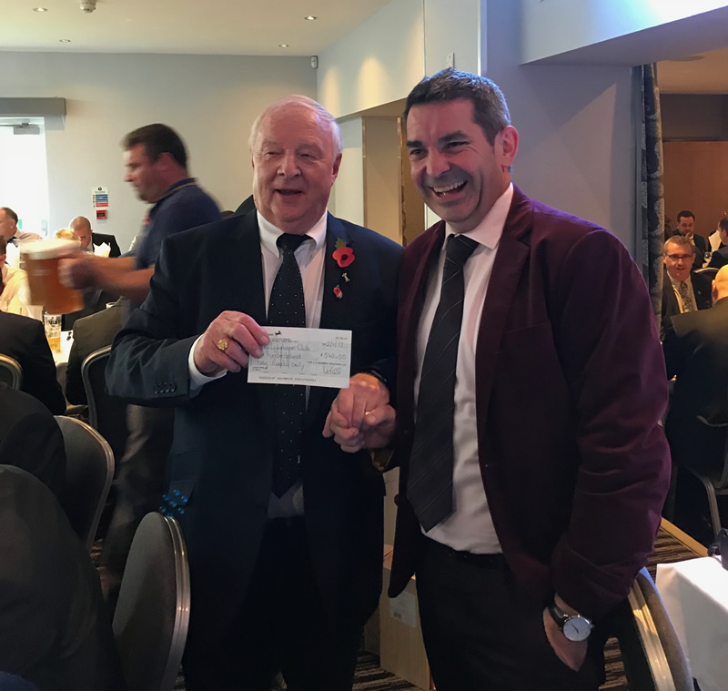 £540 donated to the Lighthouse Club – The Construction Industry Charity